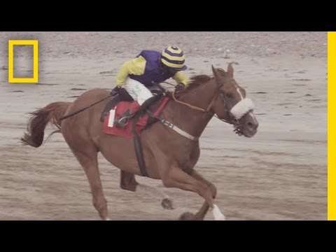 A 12-Year-Old Horse Jockey Races Towards His Dream