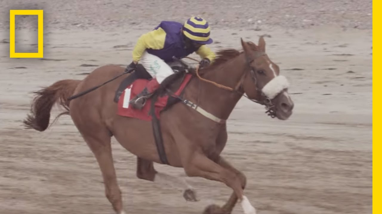 A 12 Year Old Horse Jockey Races Towards His Dream
