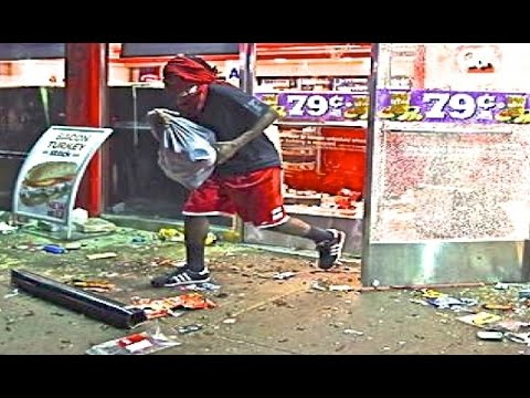 Looting In Ferguson Riots After Mike Brown Killed St