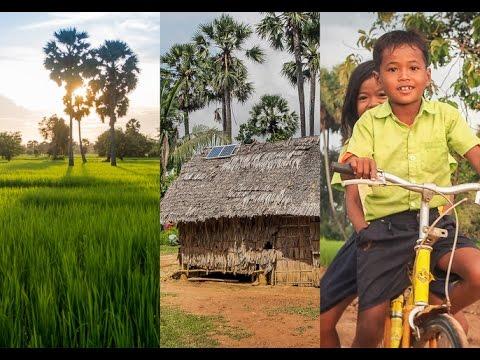 Cambodia's First Solar Village