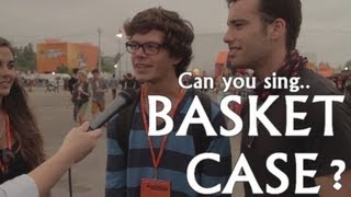 Green Day - Basket Case (Karaoke with fans) - Optimus Alive 2013 Portugal