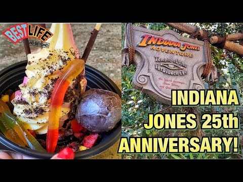 Indiana Jones 25th Anniversary At Disneyland! Exclusive New Foods To Try And The Must-Have Merch!