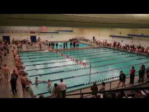 RHS Swimming Sectional LIVE - Warsaw, IN 2-18-16