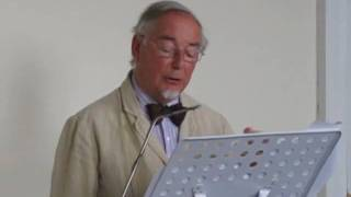 Martin Sturge reads a poem in Occitan by Guillaume le Troubadour