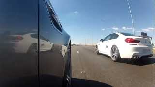 Drag Race BMW M6 Vs BMW M5