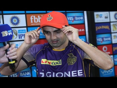 IPL 2017: In his 100th match for KKR, Captain Gambhir leads by examples