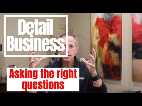 Auto Detailing Business: Ceramic coatings, Communication is KING, asking the right questions....