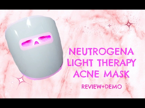 neutrogena-light-therapy-acne-mask-review-and-demo