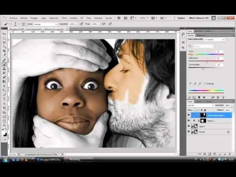 Photoshop colorear fotos en blanco y negro youtube - Fotos en blanco ...