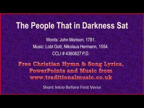 The People That In Darkness Sat(v2) - Christmas Carols Lyrics & Music