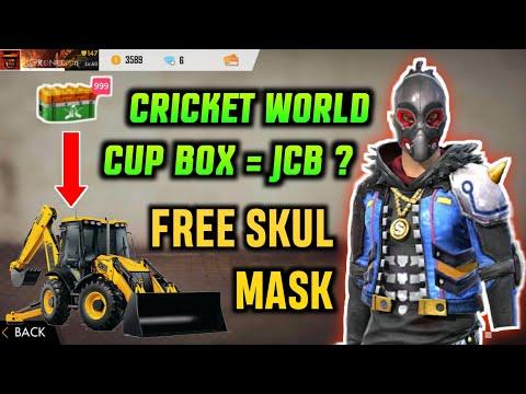 FREE SKULL MASK + CRICKET WORLD BOX = JCB ???  New TOPUP EVENT🔥