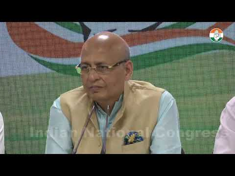 LIVE: AICC Press Briefing By Abhishek Manu Singhvi at Congress HQ