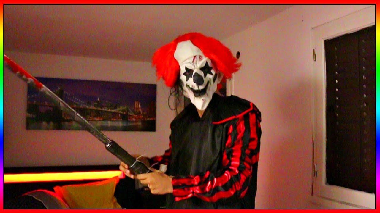 Déguisé En Clown Tueur Avec Franck Pour Faire Peur A Lia Et Sa Soeur Rien Ne Se Passe Comme Prévu