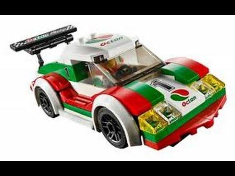 Lego City Coche De Carreras Coches Juguetes Para Ninos Youtube
