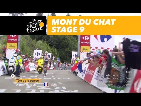 Barguil first a the Mont du Chat - Stage 9 - Tour de France 2017