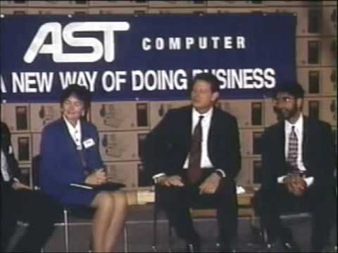 Vice President Al Gore's Visit to AST - Part 1