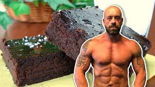 Super Fast Choc Black Bean Brownies | High Protein Vegan