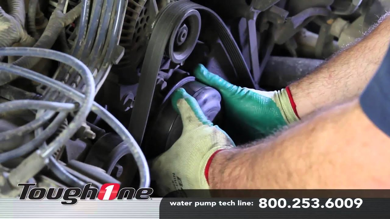 How to do a water pump installation for a ford 46l v8 advance how to do a water pump installation for a ford 46l v8 advance auto parts youtube pooptronica