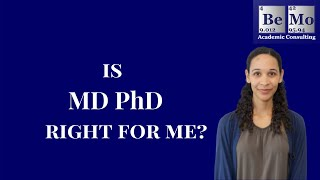 MD PhD programs: Is MD PhD right for me?