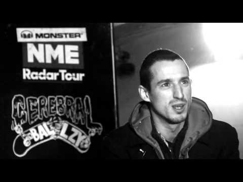 Backstage At The Raucous Monster NME Radar Tour