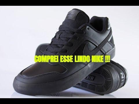 Nike SB Tênis Nike SB Delta Force Vulc Preto !!!