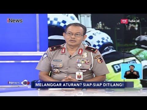 Penjelasan Polisi soal Kronologis Pengendara Motor Rusak Motor Saat Ditilang - iNews Siang 08/02