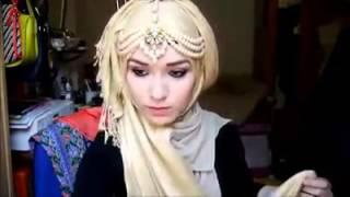 হিজাব টিউটোরিয়াল (simple hijab tutorial)