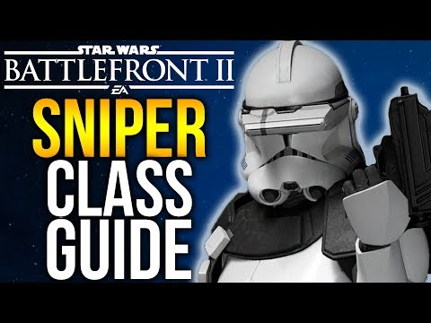 SPECIALIST CLASS GUIDE Star Wars Battlefront 2 Beta Sniper Gameplay