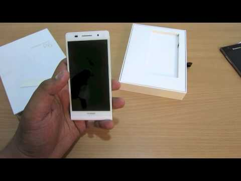 Huawei Ascend P6 Unboxing and Initial Impressions