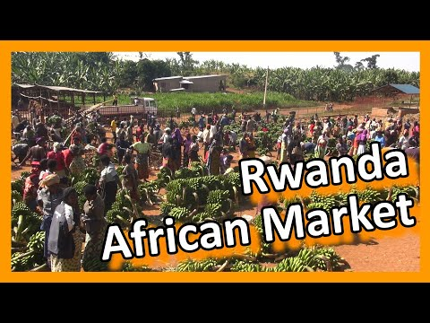 Rwanda - Rwandese market - you can't get it more African!