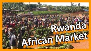 Rwanda - Rwandese market - you can't get it more African!