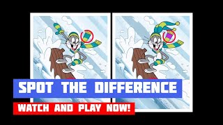 New Looney Tunes: Winter Spot the Difference · Game · Gameplay
