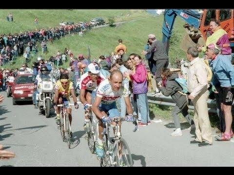 Tour 1994 Etapa 11 - Indurain vs Pantani