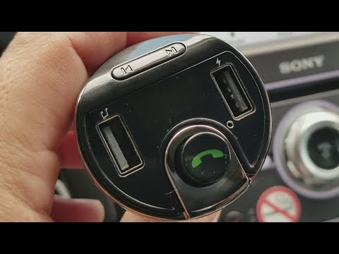 AMIR Bluetooth FM transmitter