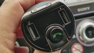 AMIR Bluetooth FM transmitter