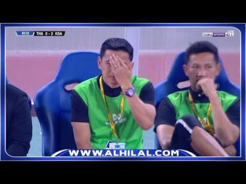 أهداف مباراة السعودية وتايلاند 3-0 - تصفيات كأس العالم 2018 ج6