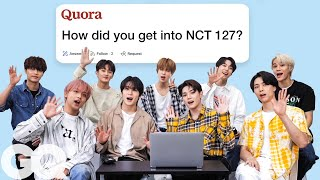 NCT 127 Goes Undercover on YouTube, Twitter and Instagram | Actually Me | GQ