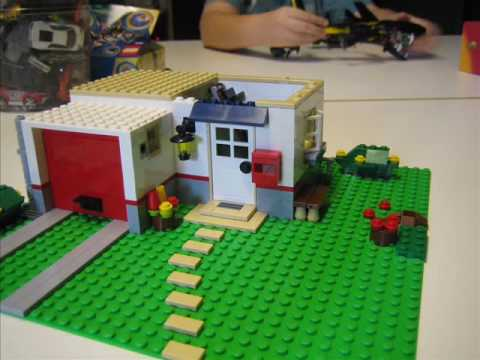Building a lego house in stop motion youtube for Things to include when building a house
