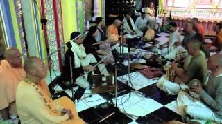 Bhajan night by HH Sivarama Swami - Radhe Syamasundara's festival 2015