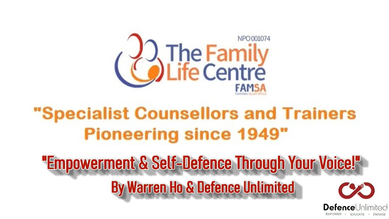 Empowerment & Self Defence Through The Voice