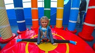 Indoor Playground for children in Play Center | Ярослава на Скалодроме | Tiki Taki Kids