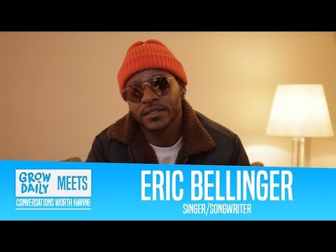 GROW DAILY MEETS: ERIC BELLINGER: Grammy Awards, Goals, Hit records &  Family