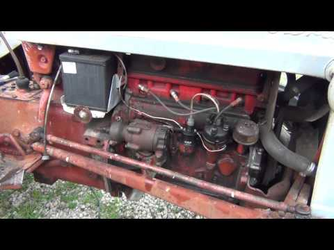 Hydraulic pump swap on a Ford 600 tractor.