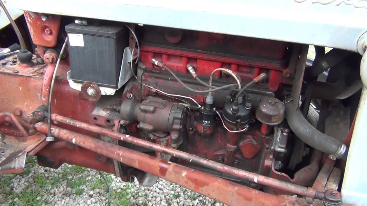 Tractor Hydraulic Pump Location On : Hydraulic pump swap on a ford tractor youtube
