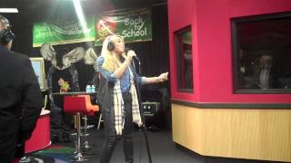 Tamar Braxton performs THE ONE on the Tom Joyner Morning Show