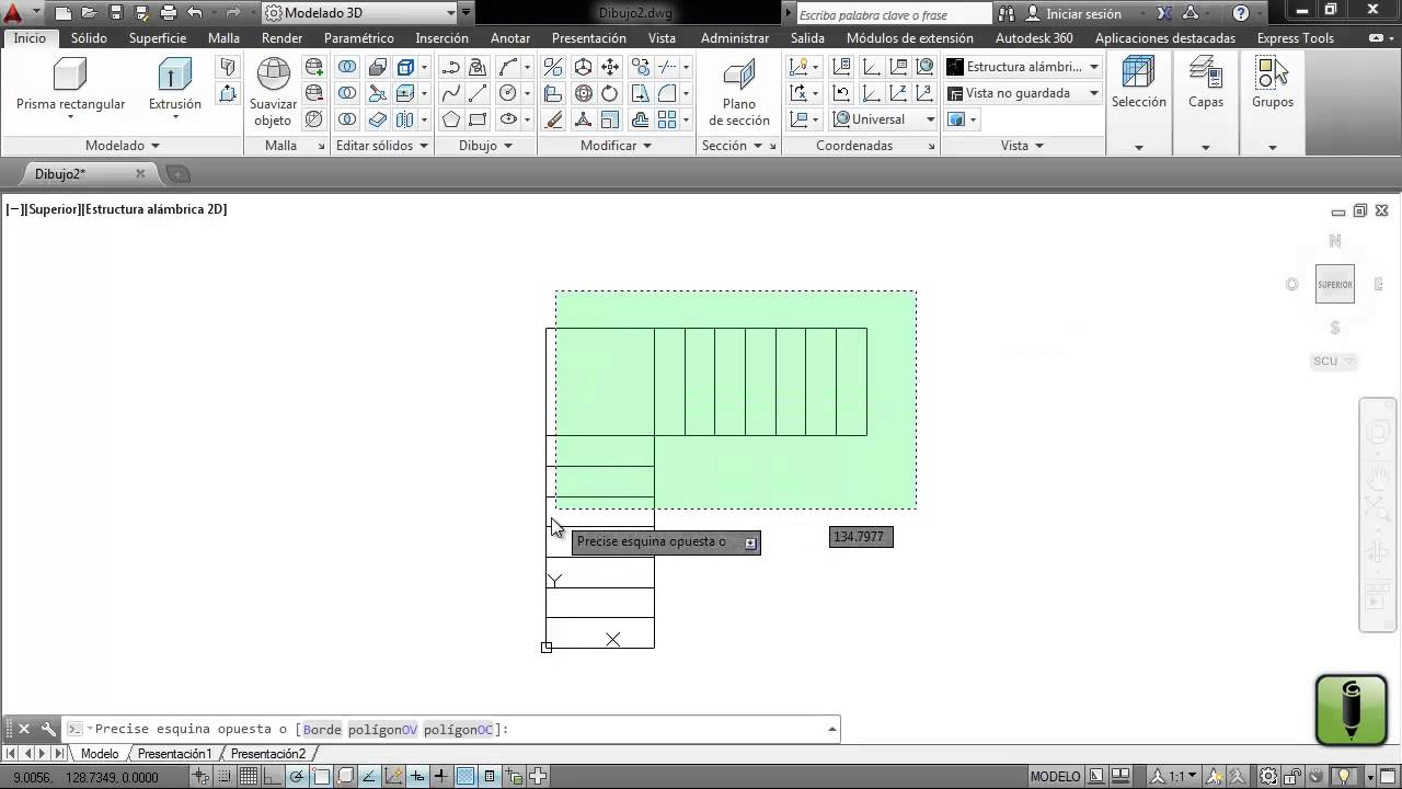 Tutorial escalera 2d y 3d en autocad 2014 youtube for Escaleras 3d max