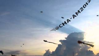 Cha-am International Kite Festival 2012