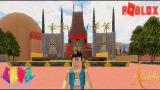 🏜ALADDIN VISITS HOLLYWOOD STUDIOS!🎦 | Walt Disney World Resort (Roblox) (Aladdin 2019)