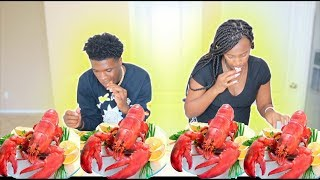 SEAFOOD BOIL MUKBANG HOW WE FELT ABOUT OUR BABY!!!