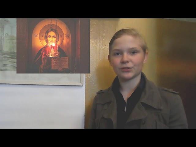 Изображение предпросмотра прочтения – ЕвгенияТитова читает произведение «Крохотки; Молитва» А.И.Солженицына